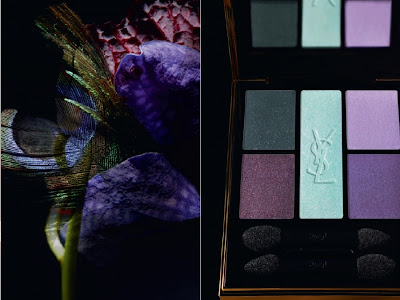 Yves Saint Laurent Jardin de Minuit Fall 2011 Makeup