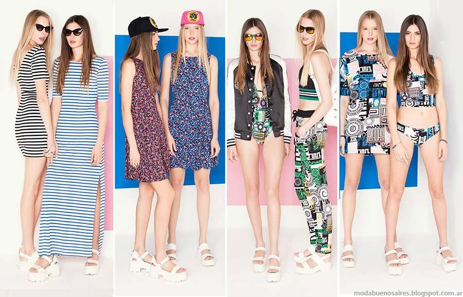 Moda Femenina Juvenil 2015 Moda Juvenil Verano 2015