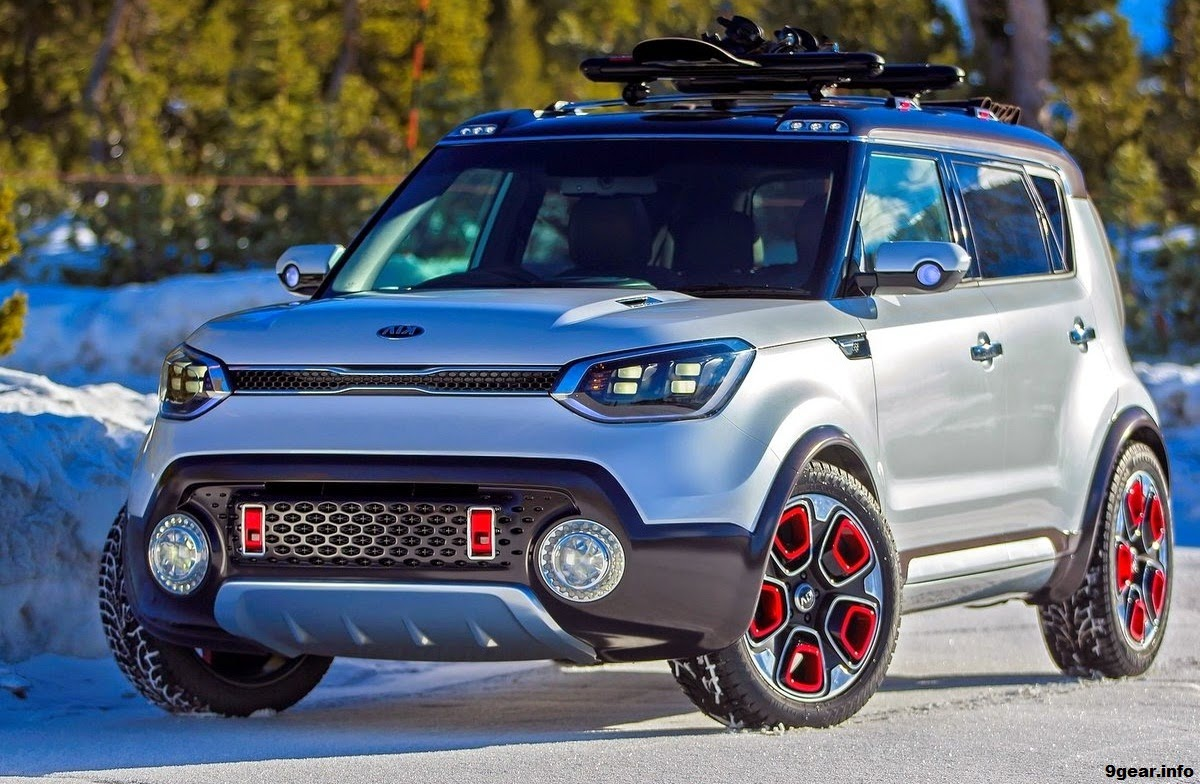2015 Kia Trailster e-AWD Soul Hybrid Concept | Car Reviews ...