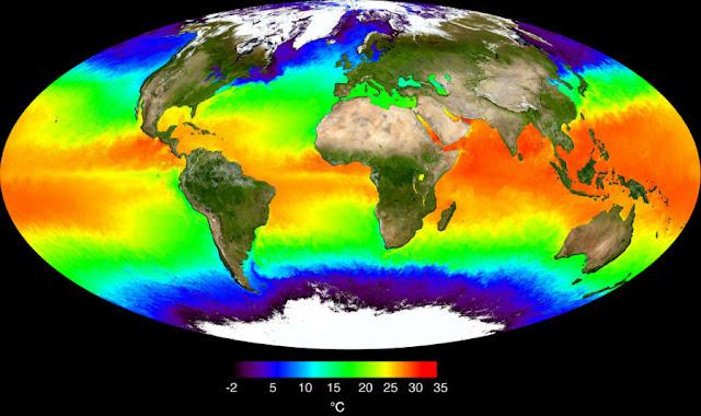 NASA study indicates slowdown in the increase of ocean temperatures