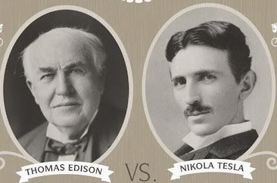 Perang Arus Listrik Tesla vs Edison