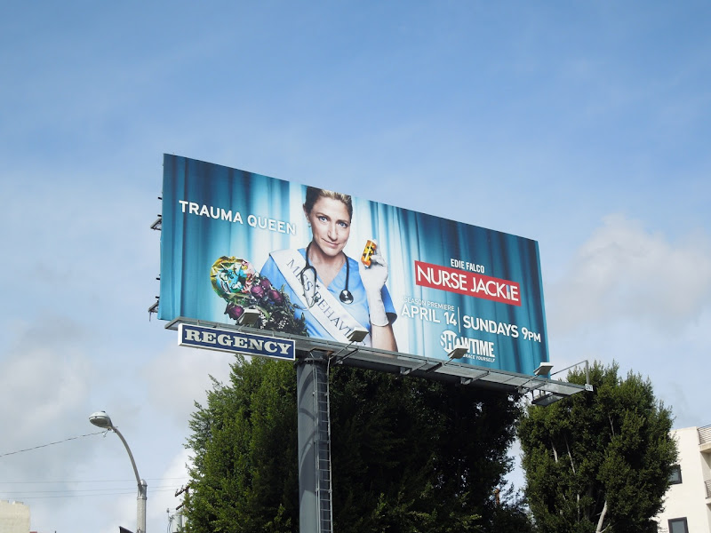 Nurse Jackie season 5 Showtime billboard