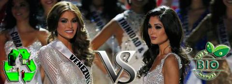 Miss Universe 2013: Plastico vs. Natural