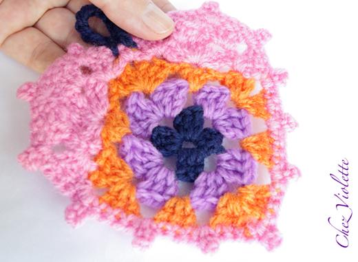 DIY Chez violette crochet heart