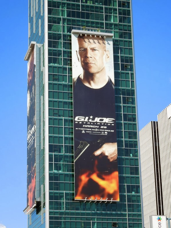 GI Joe Retaliation billboard