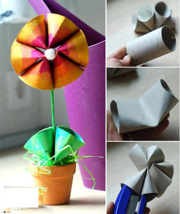kids crafts with toilet paper rolls