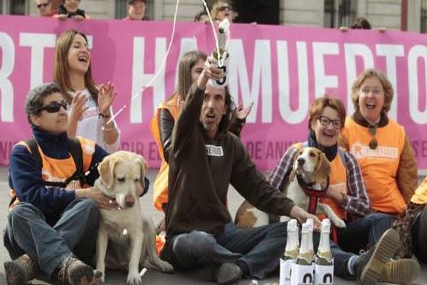 En Madrid ya no se sacrificarán animales