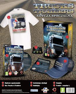 Trucks and trailers WizualizacjaTT
