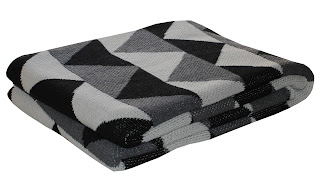 happy habitat modern cotton eco blanket