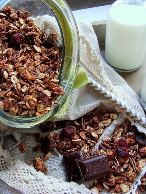 granola domowa