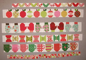 Diane's (from Nebraska) row by row quilt
