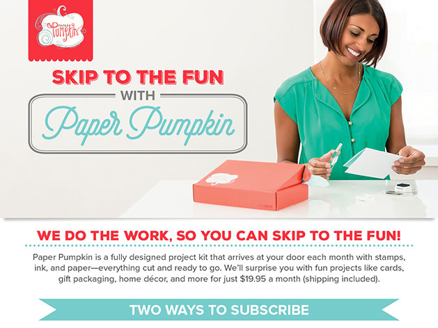 Subscribe to Paper Pumpkin