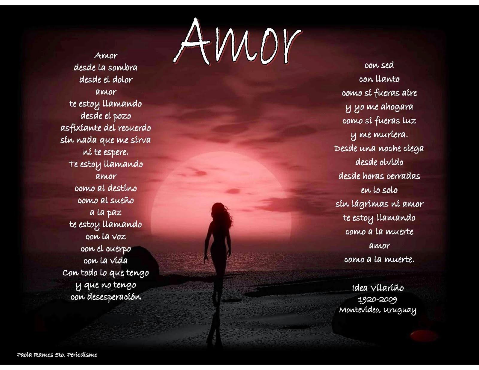 Amor Poemas Fondos
