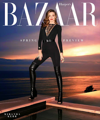 Miranda Kerr Harper's Bazaar February 2015 Photoshoot by Terry Richardson