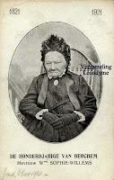 Johanna Willems (1821-1923) eerste honderdjarige van Berchem