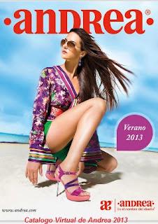 andrea catalogo de sandalias verano 2013
