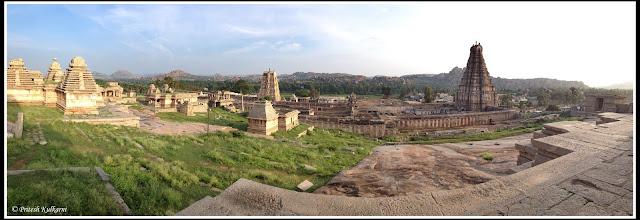 View of Virupaksha temple