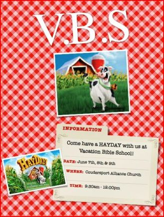 6-7/8/9 Vacation BIble School