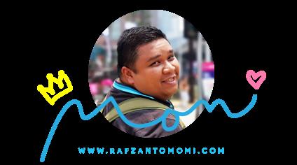 RAFZAN TOMOMI - A MALAYSIA'S LIFESTYLE BLOGGER