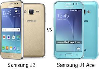 Samsung Galaxy J2 vs J1 Ace Harga dan Spesifikasi