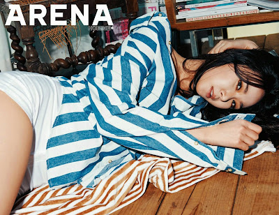 9Muses Euaerin Arena Homme+ April 2015