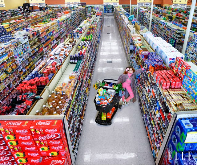 Kristen Stewart grocery store