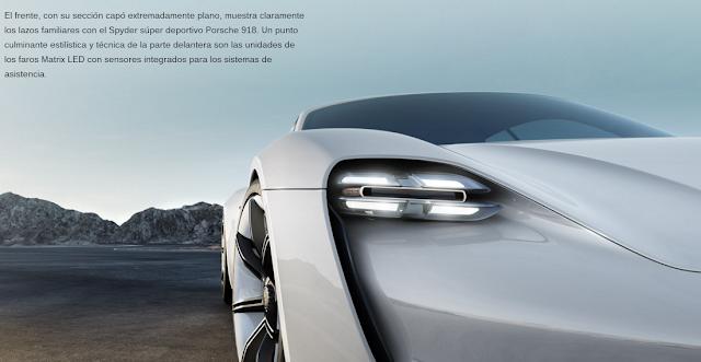 Así se verá el próximo Porsche 100% eléctrico