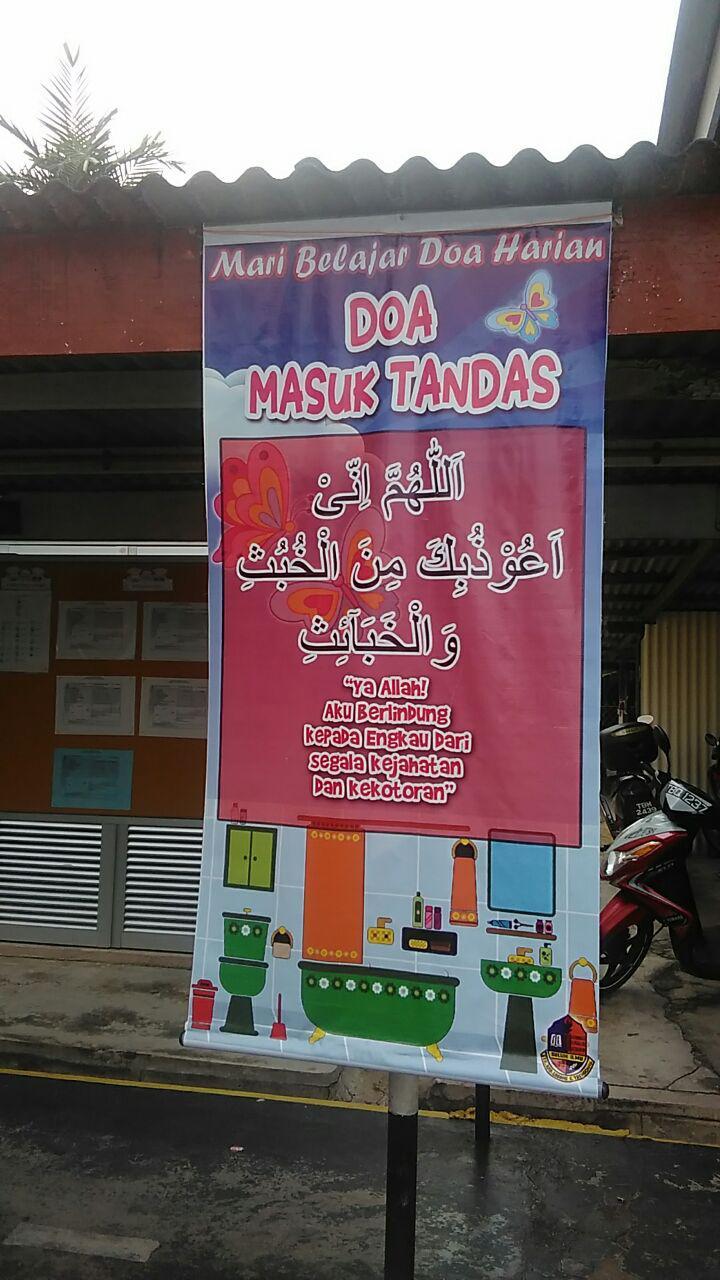 DOA MASUK TANDAS
