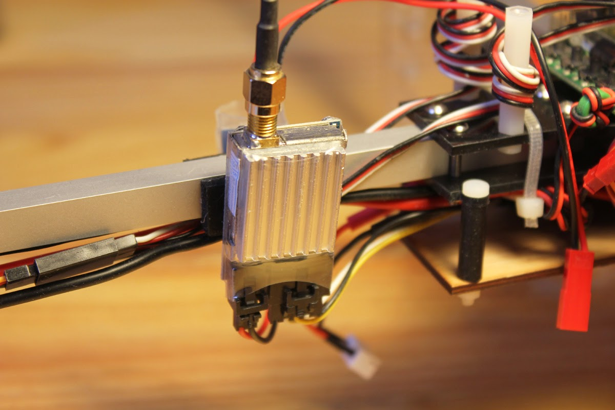 How To Set Up Your Multicopter For Fpv Orangerx Kk2 Wiring Diagram The Boscam 58 Ghz Video Tx