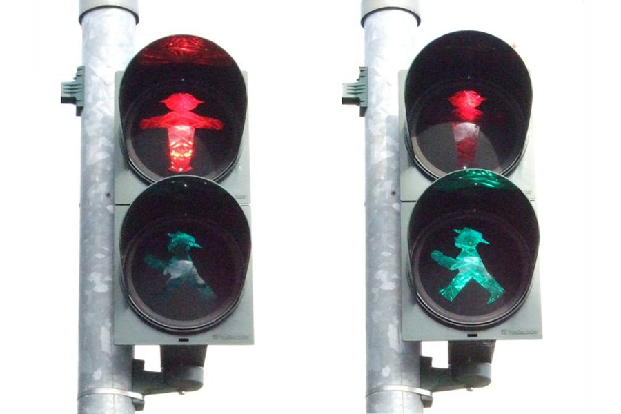 Ampelmannchen strike from Wednesday in Germany