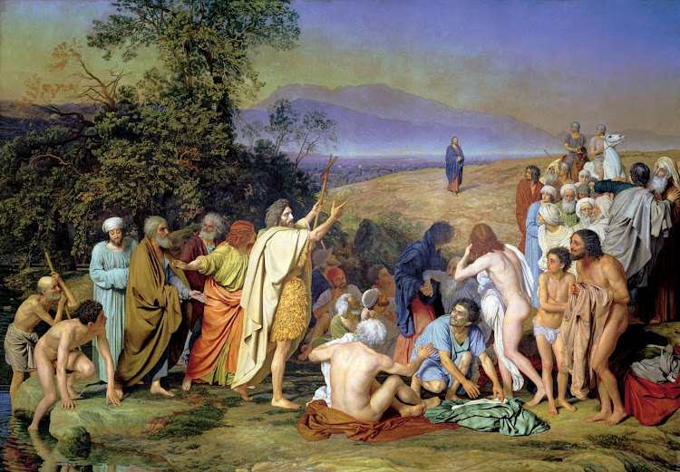 Alexander Ivanov - Appearance of Christ Before the People (1837-57)