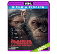 El Planeta de Los Simios: La Guerra (2017) Web-DL Audio Dual Latino/Ingles 5.1