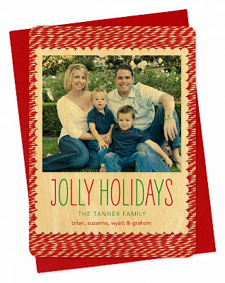Jolly Holidays Wood Card 20% Off