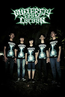 Butterfly From Cocoon Band Deathcore / Death Metal With Female Vocal Vokalis Cewek Wanita Dari Jakarta Foto Logo Wallpaper