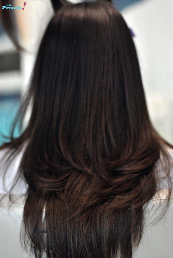 Resultado - depois - cabelo - Cauterização Capilar Lanza Ultimate - Salão Platinum Visage
