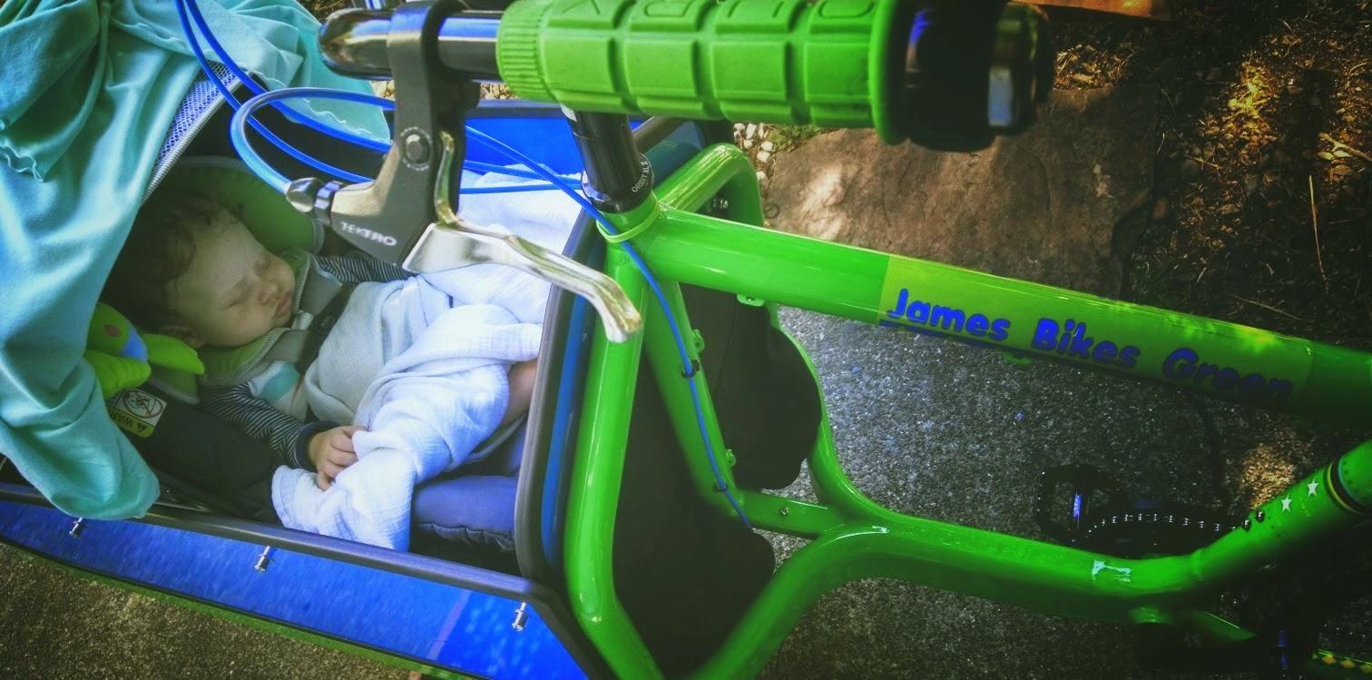 James Bikes Green