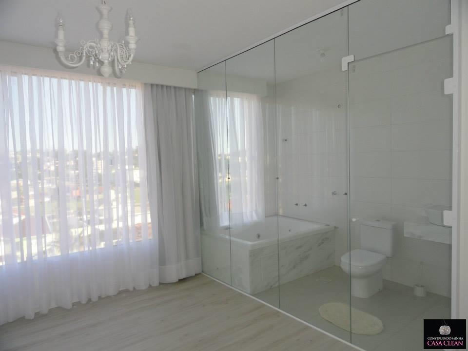 Construindo Minha Casa Clean -> Armario De Banheiro Feito De Tijolo De Vidro