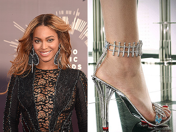 Princess shoes: Beyoncé purchased shoes for 300 thousand dollars for new video