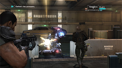Screenshot Game Binary Domain PC