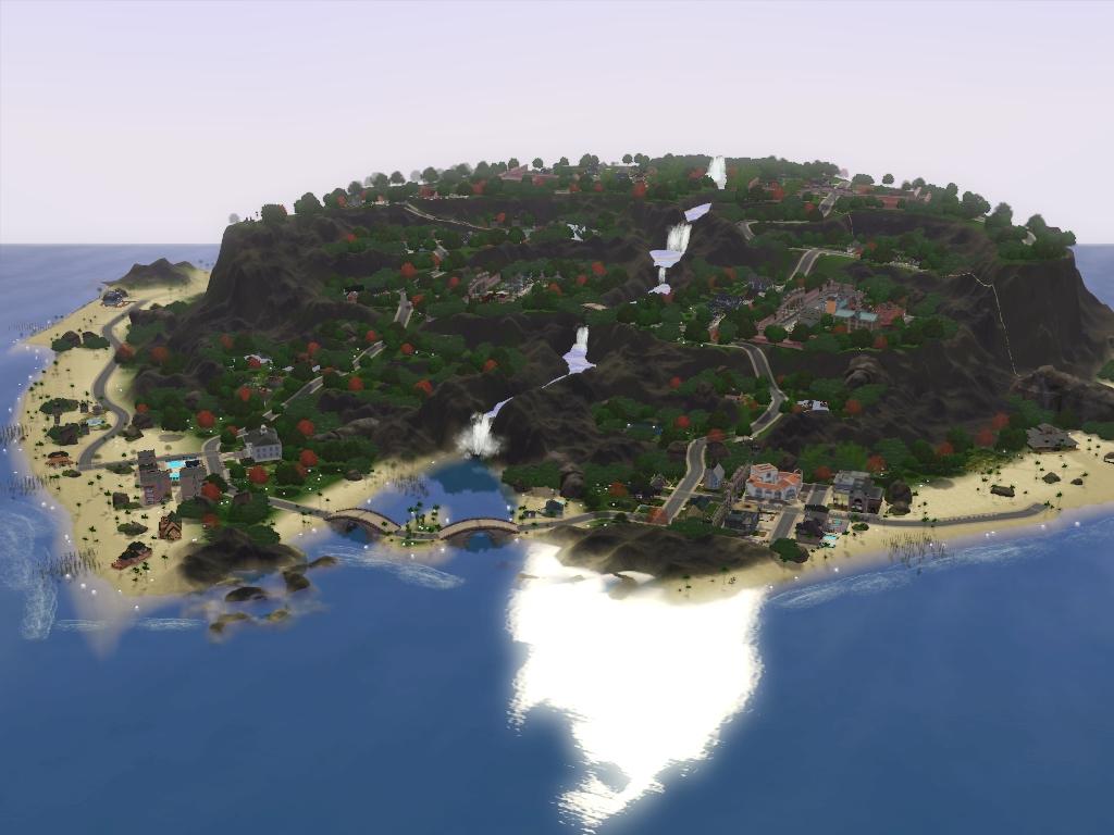 my sims 3 blog dragon falls by my sim realty