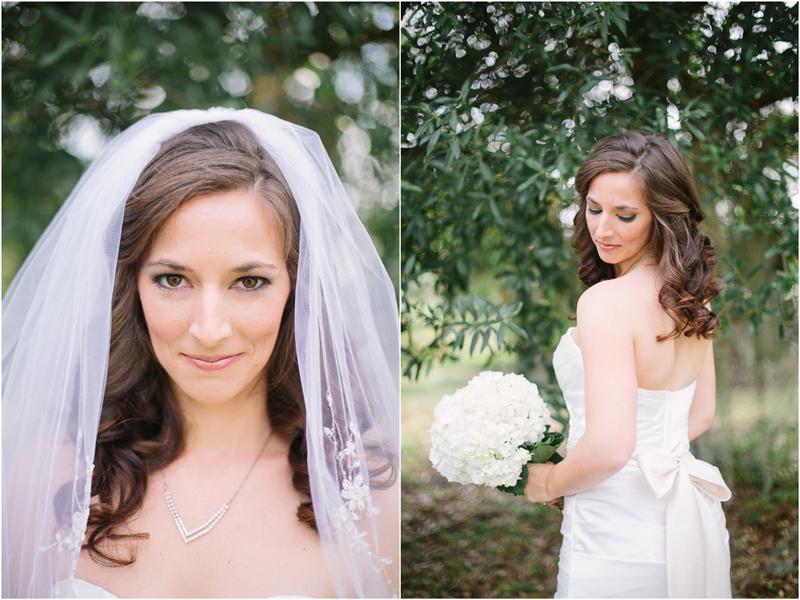 palm beach florida wedding bride photo