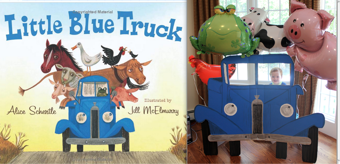 Jackie Made It Little Blue Truck First Birthday Party