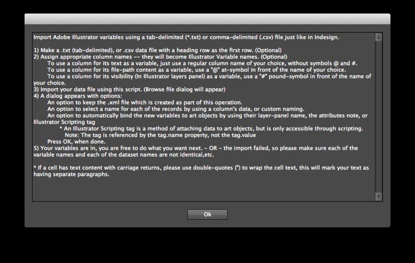 illustrator variableimporter script part 1 tutorial prepression rh prepression blogspot com Adobe Illustrator Templates Adobe Illustrator Templates