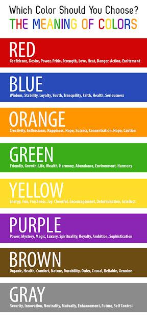 Ý nghĩa các màu sắc - CayPhaLe.com