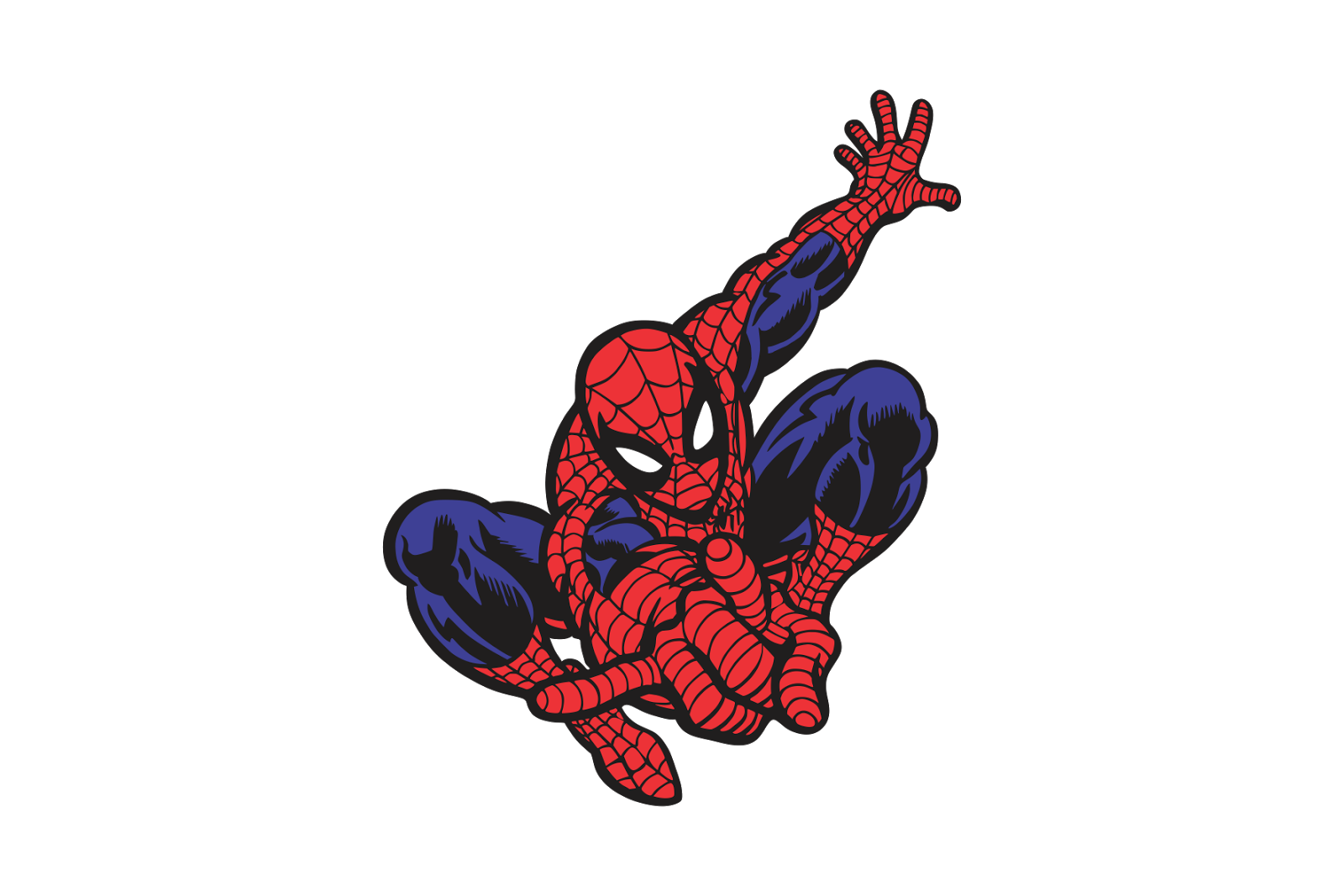 Spiderman vector - Image spiderman ...