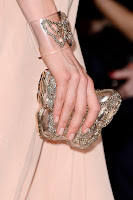 Прозрачна гривна с пеперуда от камъни Valentino пролет-лято 2013