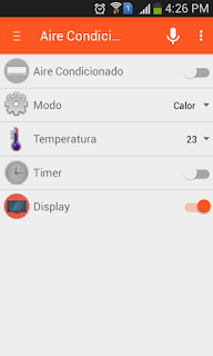 openhab air conditioner interface