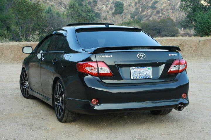 Most Reliable Cars: Toyota Corolla 2010 Modified