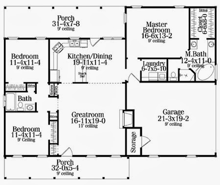 2500 Square Foot House Floor Plans 2500 Square Feet House Plans ...