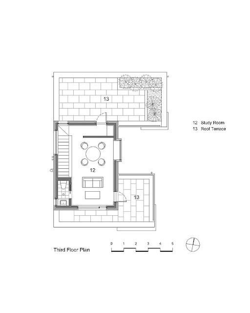 denah rumah minimalis lantai 3